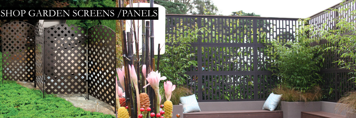 Garden Screens & Panels