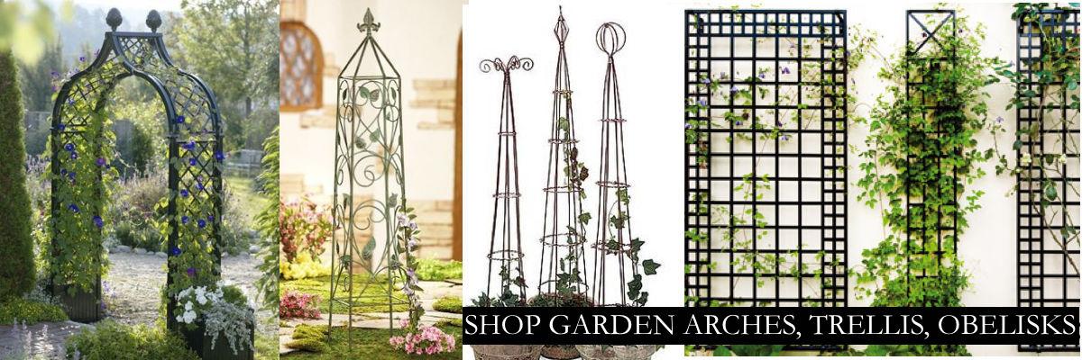 Garden Arches, Trellis & Obelisks