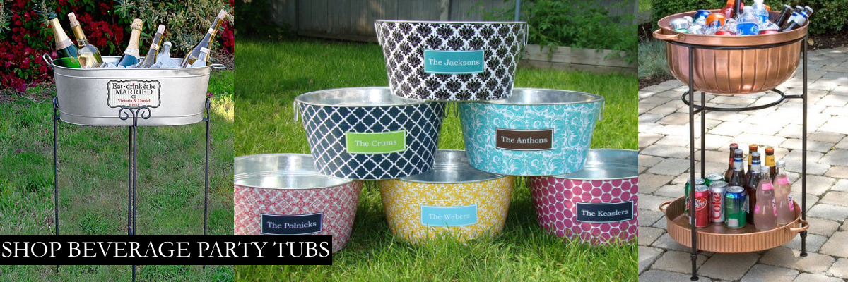 Beverage Party Tubs
