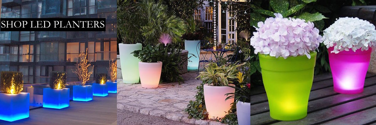 LED Planters