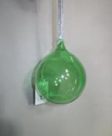 Green Glass Globe Hanging Christmas decor