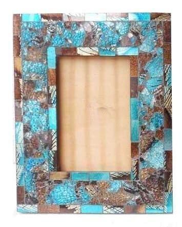 Morden Glass Decorative Wooden Photo Frame