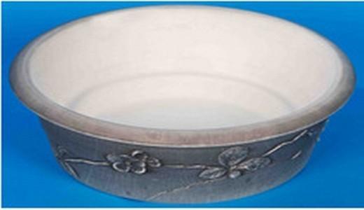 Terracotta Plastic White Rock Plastic Bowl