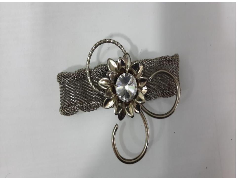 Lotus design napkin ring
