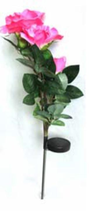 3 Rose decoration light