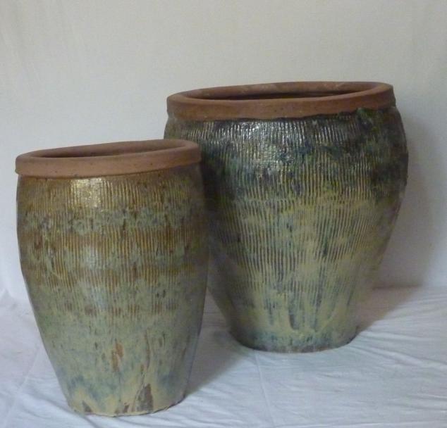 61cm Earthenware Style Ceramic Planter