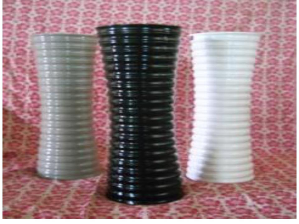 Compact Design Modern Fiberglass Vases