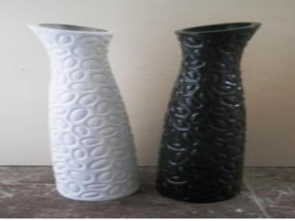 Tamper-proof Designer Fiberglass Vases