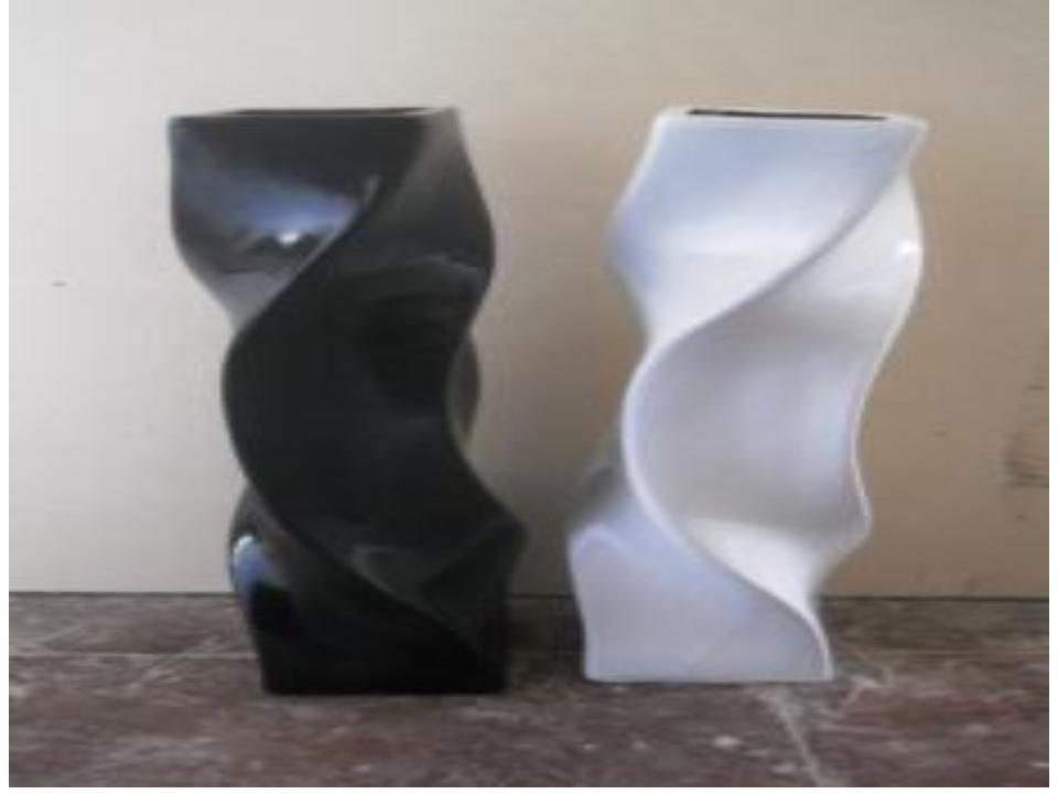 customized designs Modern Fiberglass Vases