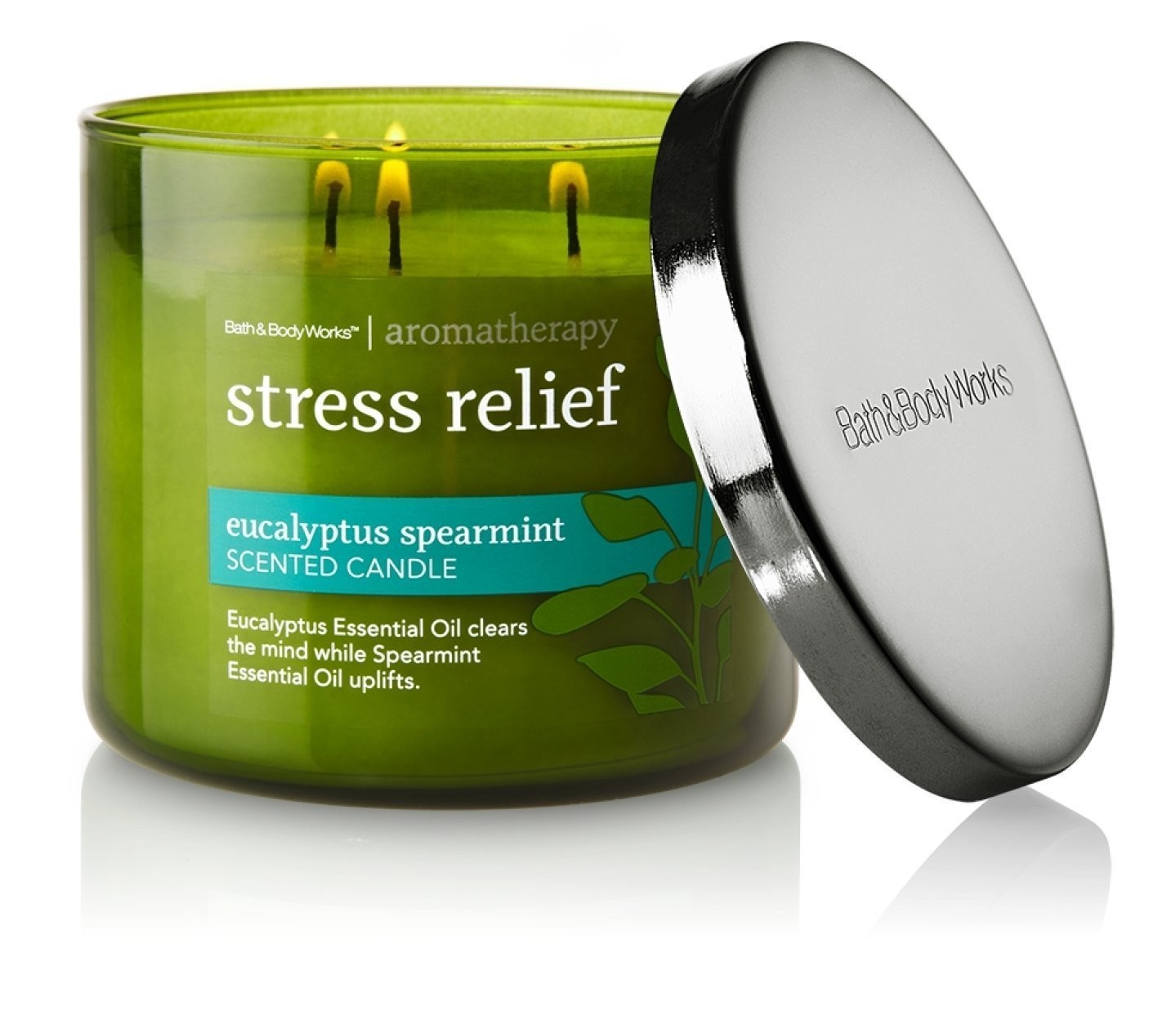 Aromatherapy Stress Relief - Eucalyptus Spearmint Scented Candle