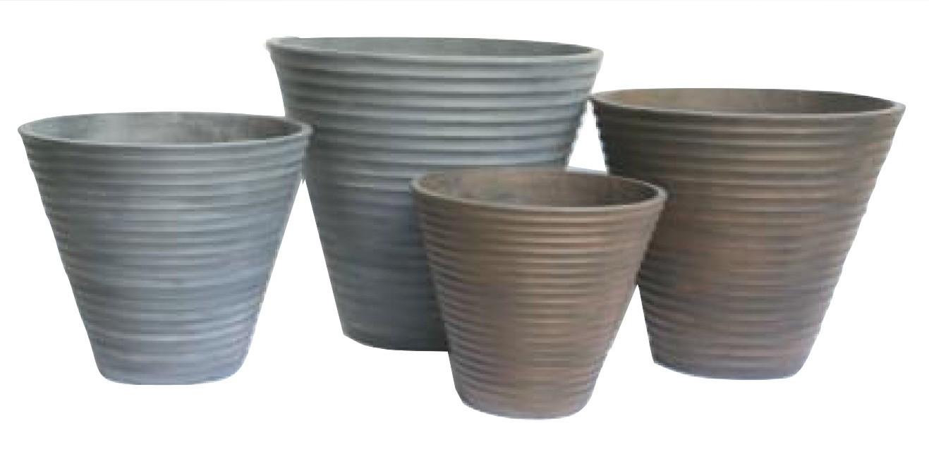 Anti Grey Finish 54cm Flower Pots