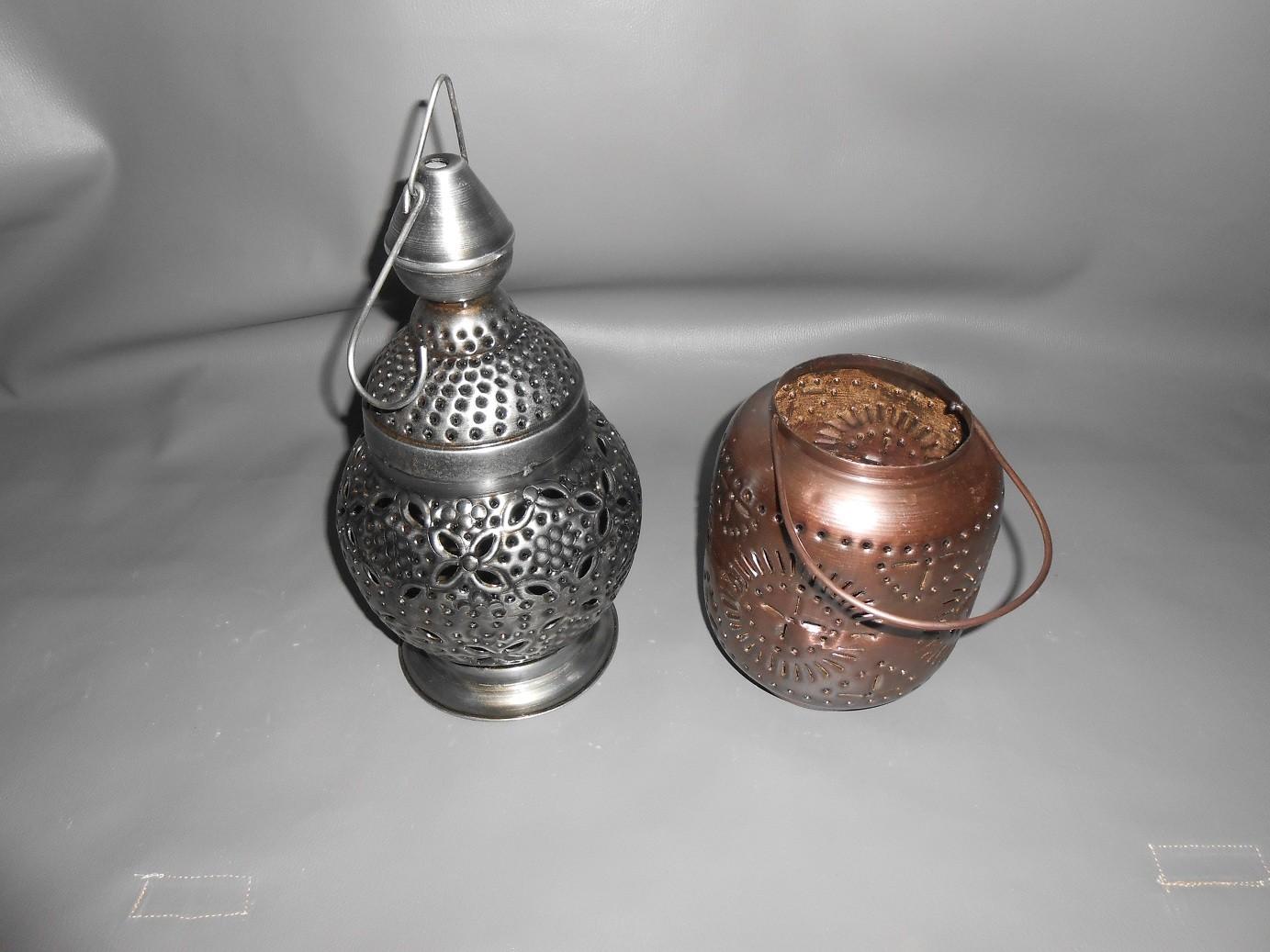 Antique Copper Lanterns-Small Size
