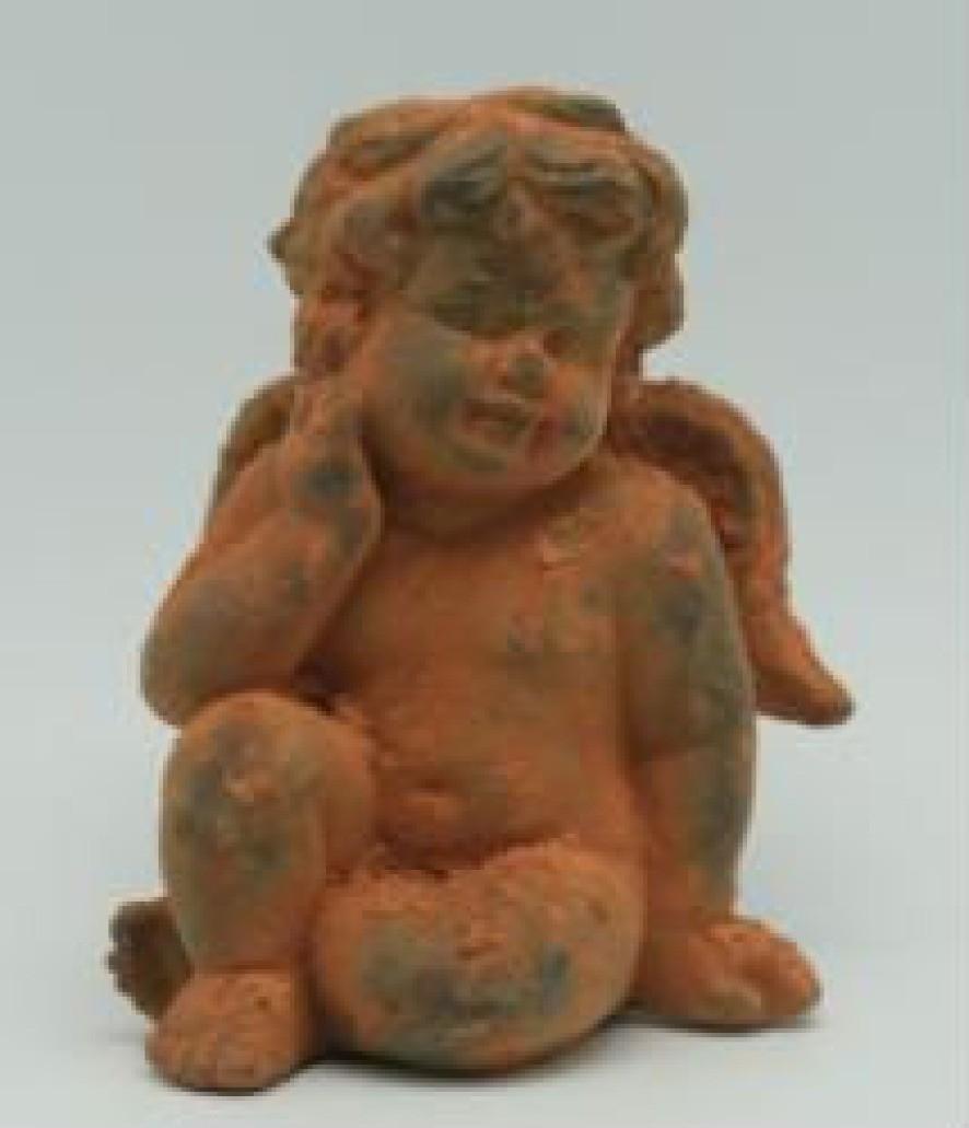 Antique Rustic Angel Cement Garden Ornaments