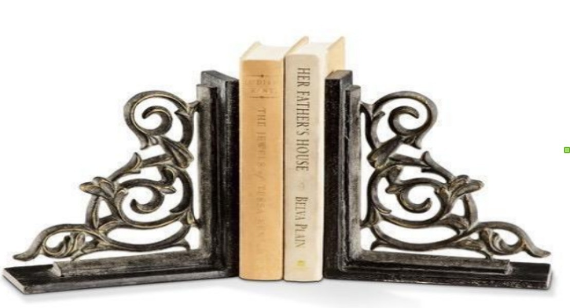 Attractive Net Design Decorative Bookend