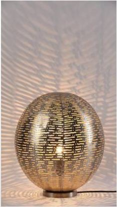 Ball Table Lamp-Mesh Etch