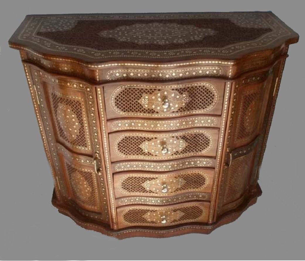 """Cabinet jali sheesham wood-36"""""""