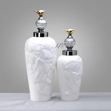 China South Yangtze`s style ceramic bottle home decor (A)