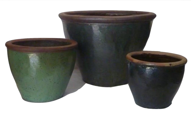 Classic 67cm Height Ceramic Planter