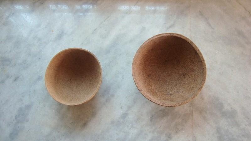 "Round Hanging Basket Coco liner size  12"""