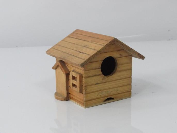 Wooden Craft Decorative Bird House
