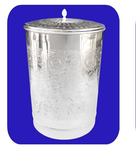 Fully Engraved Marwari Jar With Lid