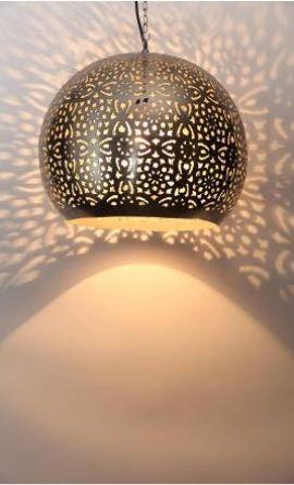 Daisy net etch Decorative lamp