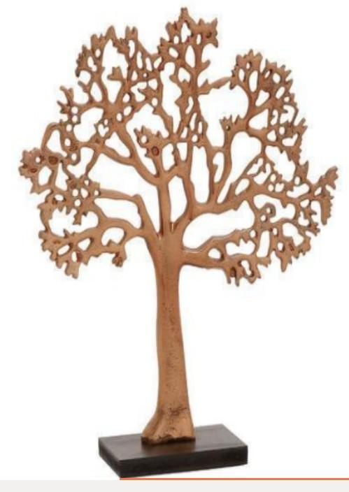 Copper Decorative tree