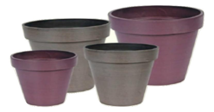 Decorative 30.5cm Round Stone Planters