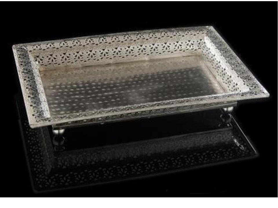 Decorative Rectangular Tray