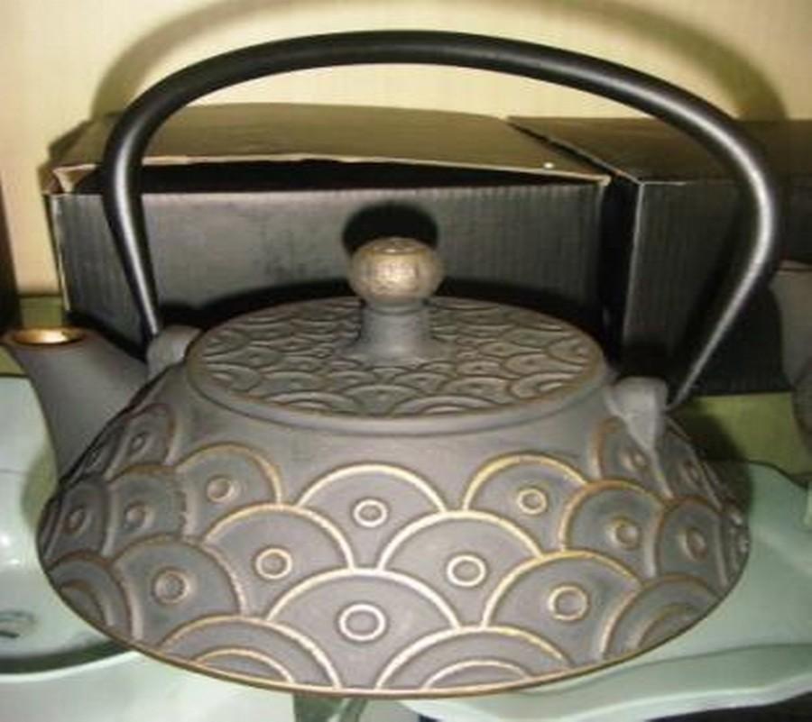 Designer iron Tea pot