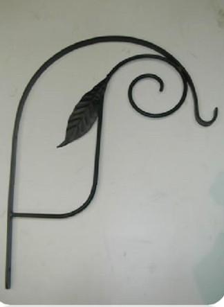 Designer Basket Bracket With Leaf Design