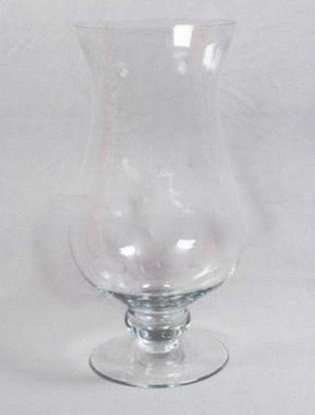 14''  Candle Holder Hurricane Glass