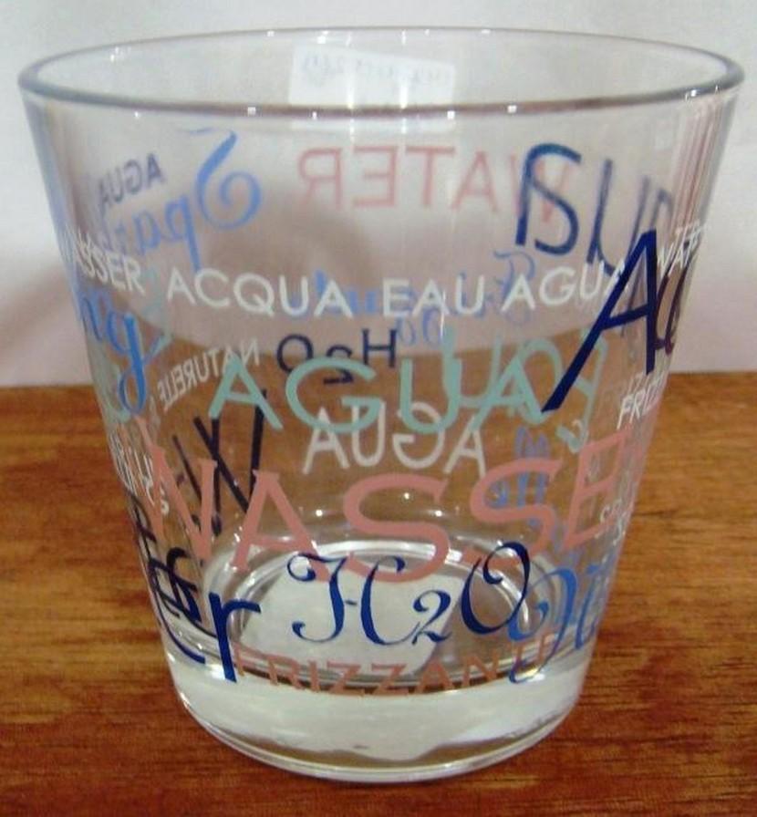 255 ml Mix Water Glass