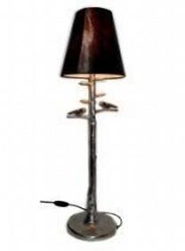 Aluminum Bird Lamp