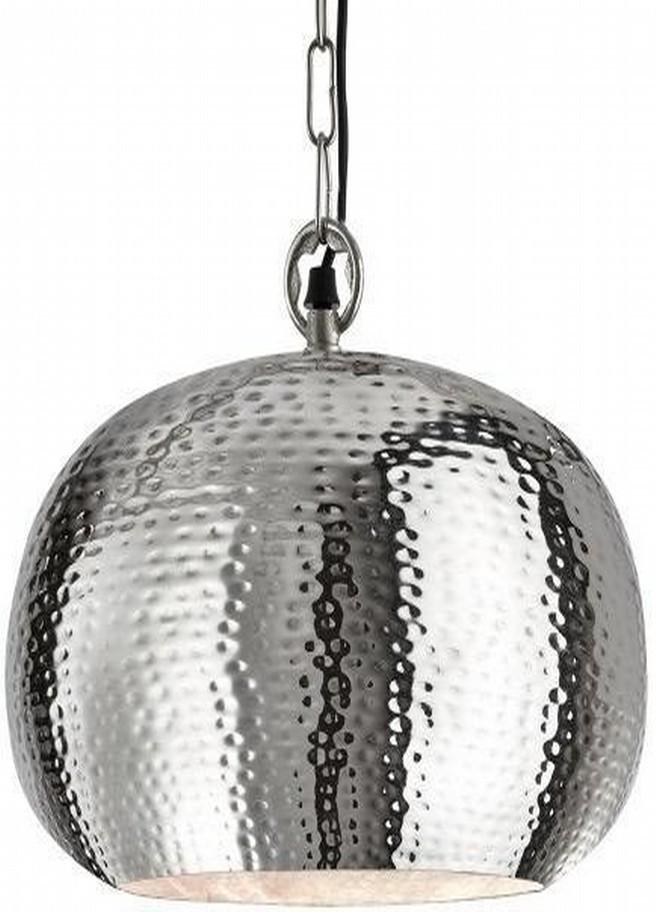 Aluminum Hammered Pendant Light