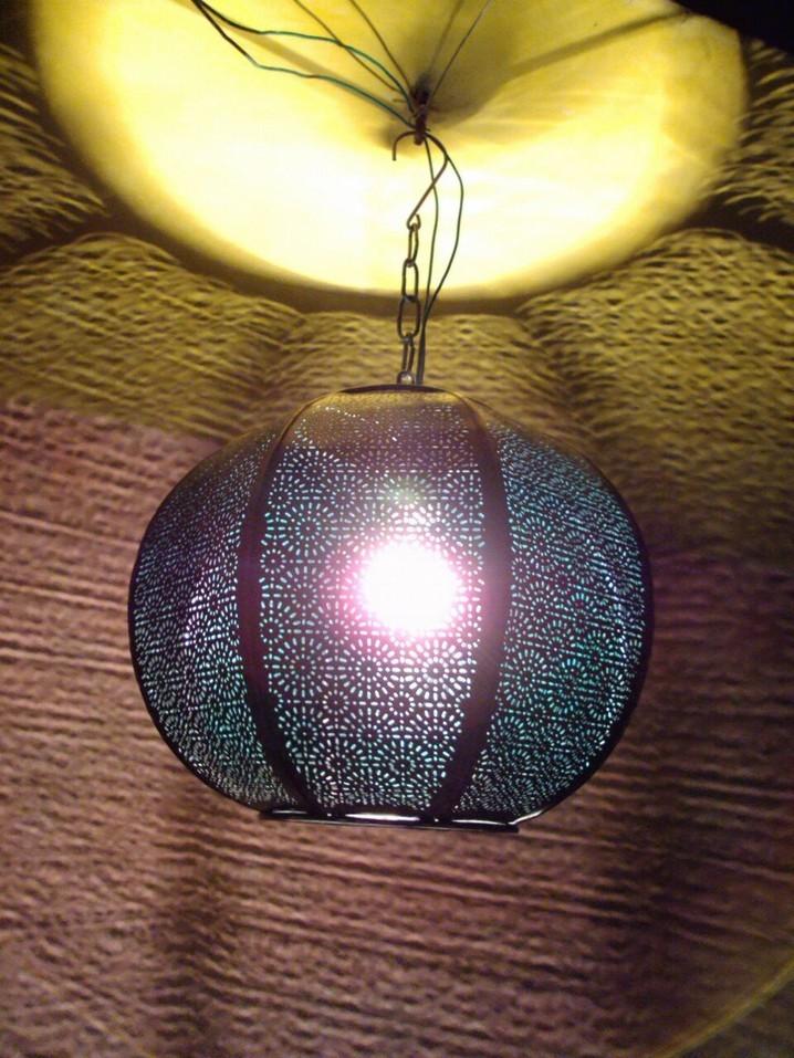 Antique design round Lantern
