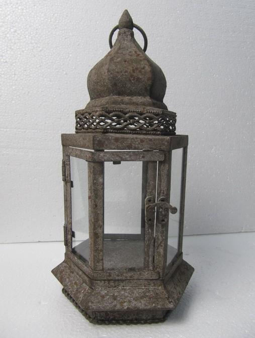 Antique Finish Decorative Metal Hanging Lantern