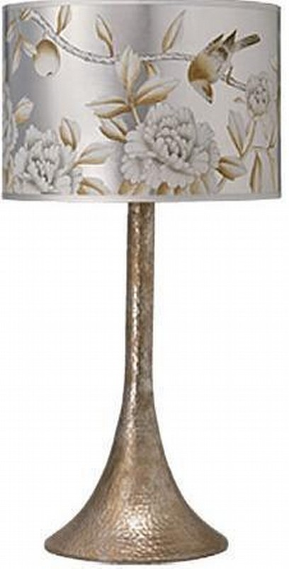Antique Finish Hammered Table Lamp