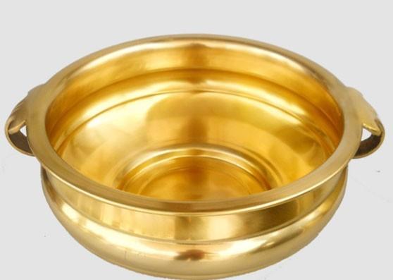 Antique Finish Kundi, 14 Inches