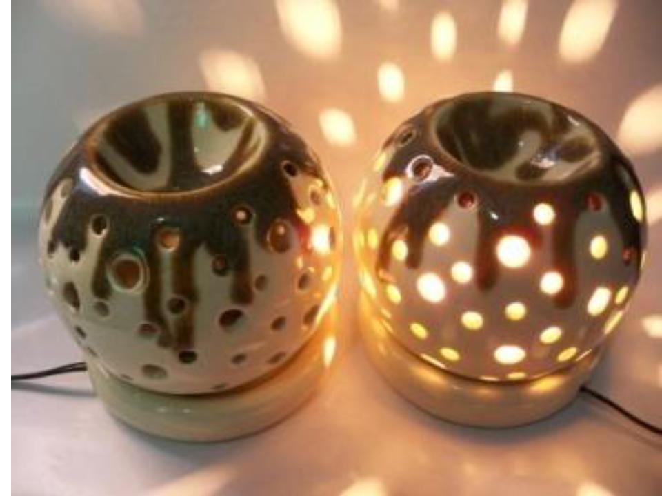 Aroma Lamp Sets Round shape