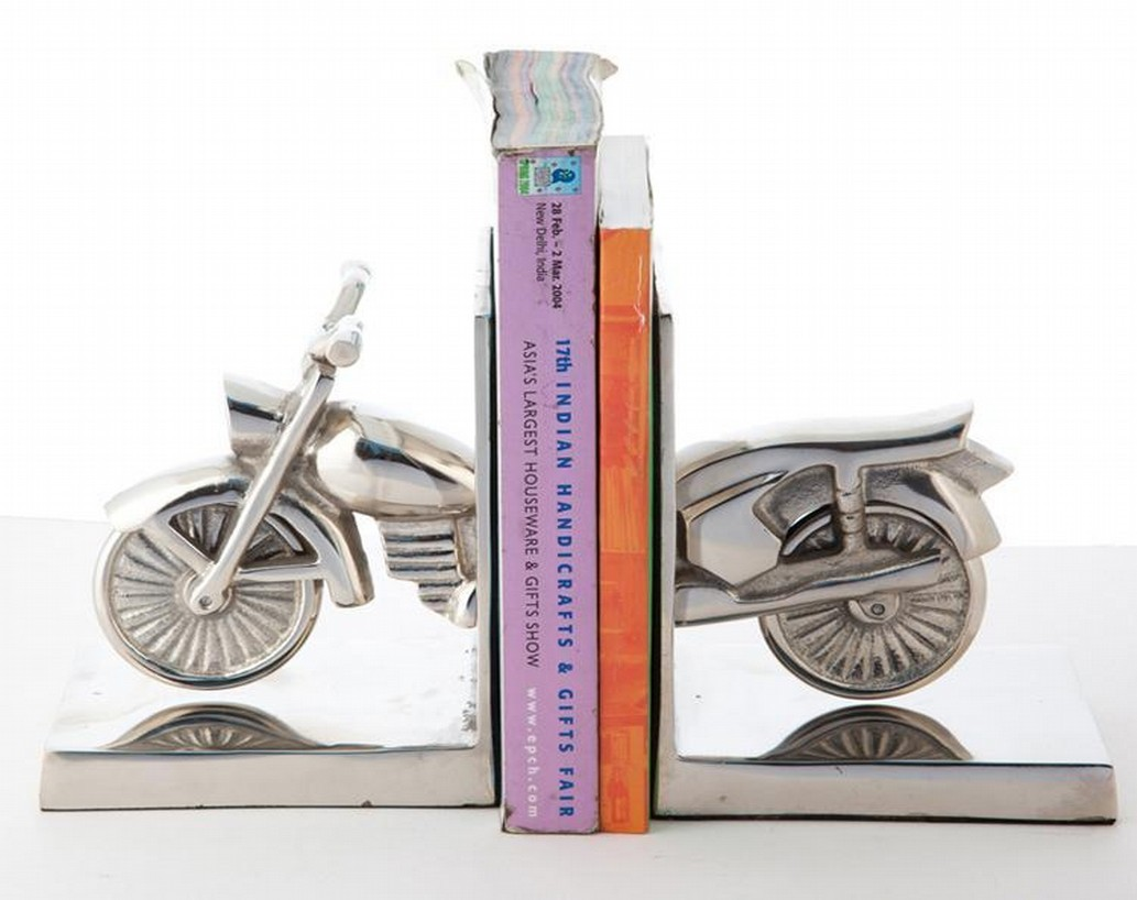 Bike Aluminum Bookend
