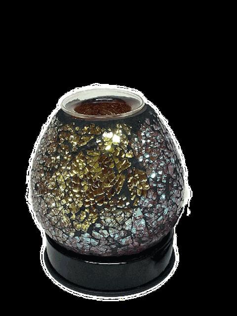 Black Color Mosaic Fragrance Lamp