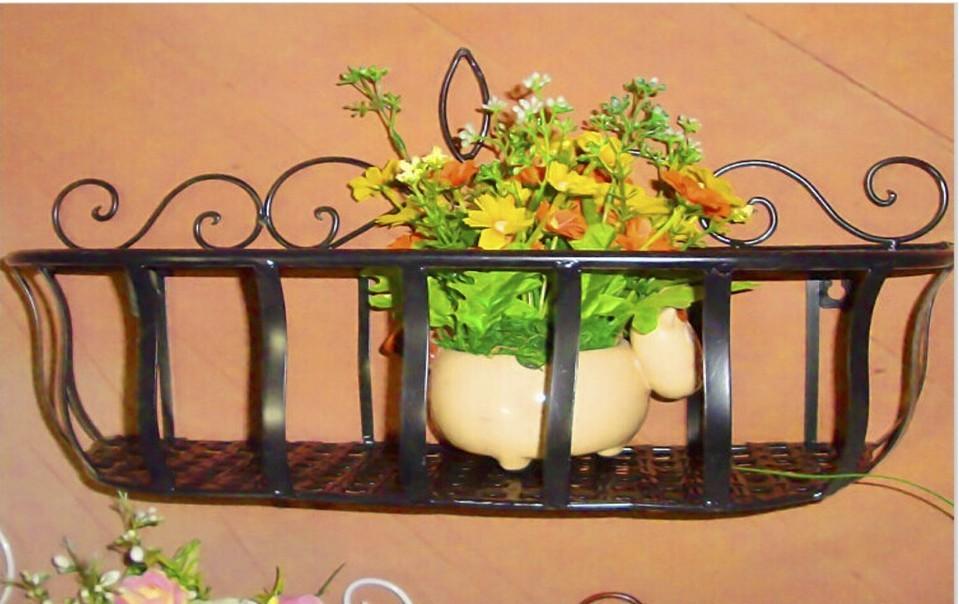 Black Planter Basket 53cm*18cm*26cm Size