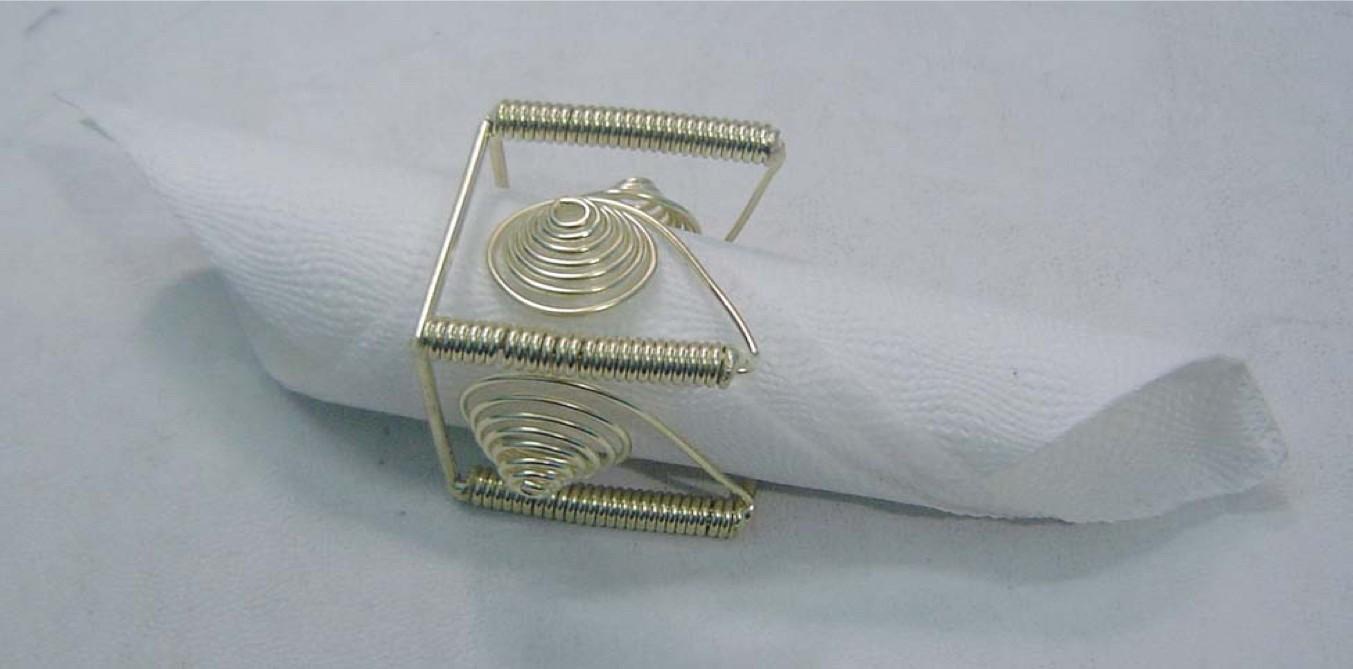 Brass Napkin Ring