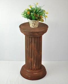 Brown  Coating Metal Pillar Stand