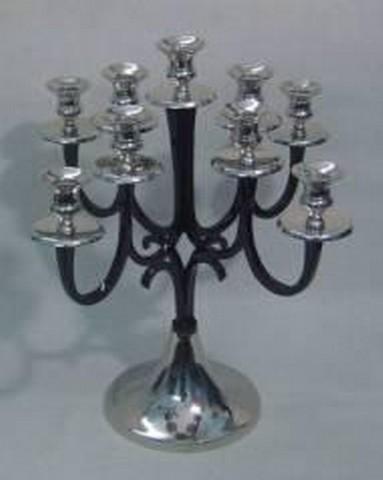 Candelabra Black Candle Holder