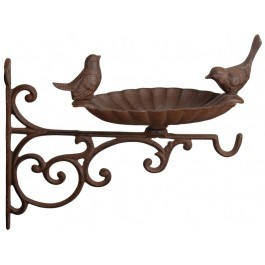 Cast Iron Bird Feeder With Bracket