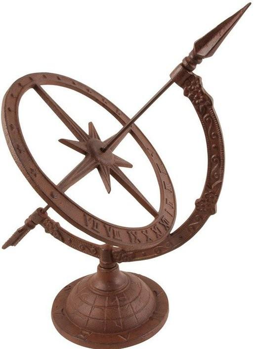 Classic Design Cast Iron Sun Bowl Sundial