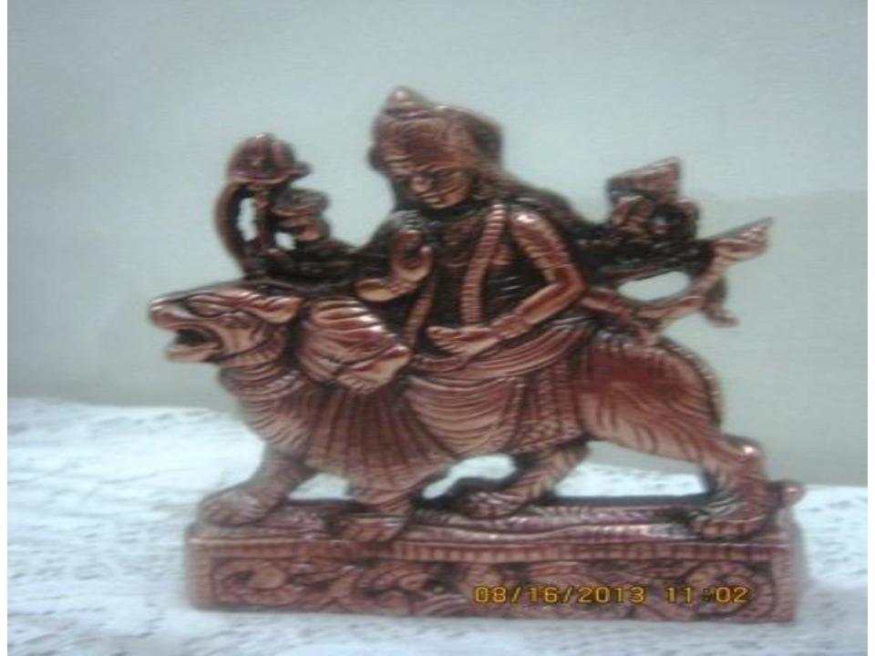 Decorative Durga Idol 6 Inch