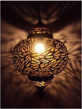 Decorative Etching Lamp